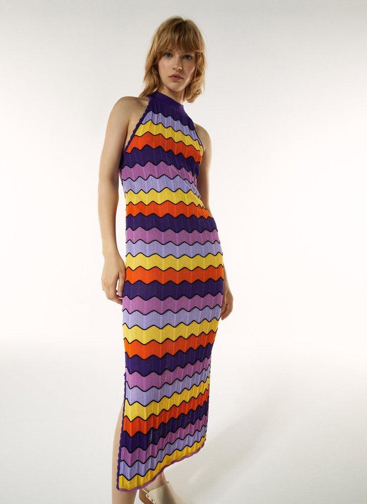Úpletové šaty, Üterque, 3350 Kč