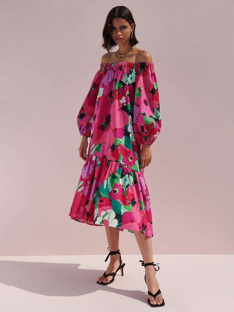 Vzorované šaty, Reserved, 999 Kč