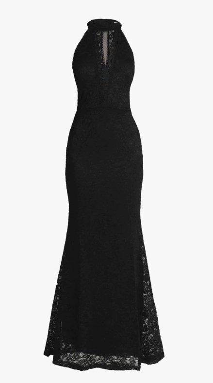 Černé společenské šaty, Wal.G, zalando.cz, 1520 Kč