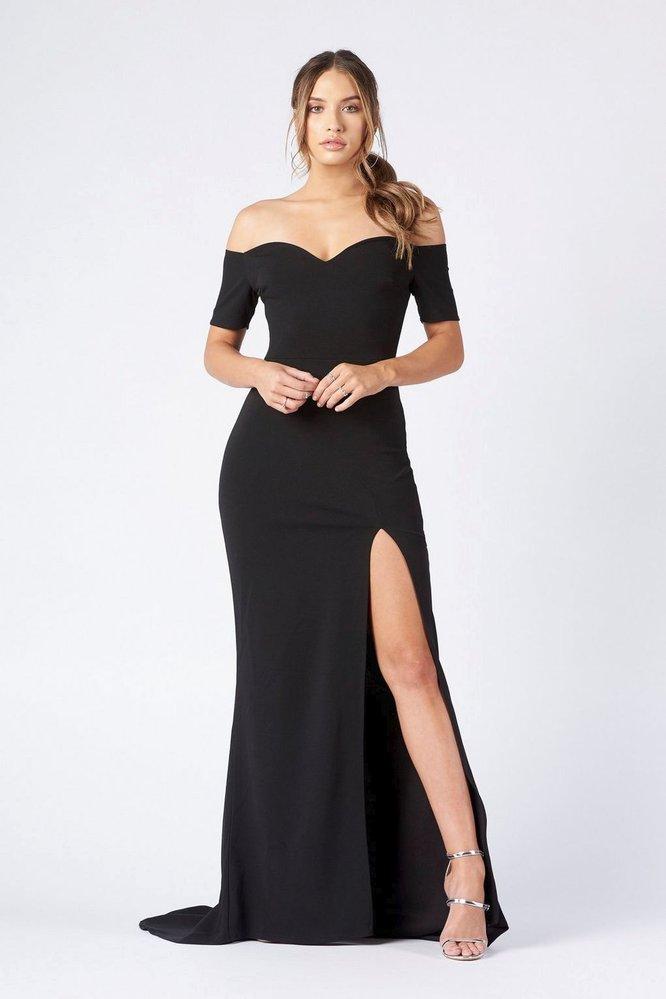 Šaty s odhalenými rameny, TopShop, £45