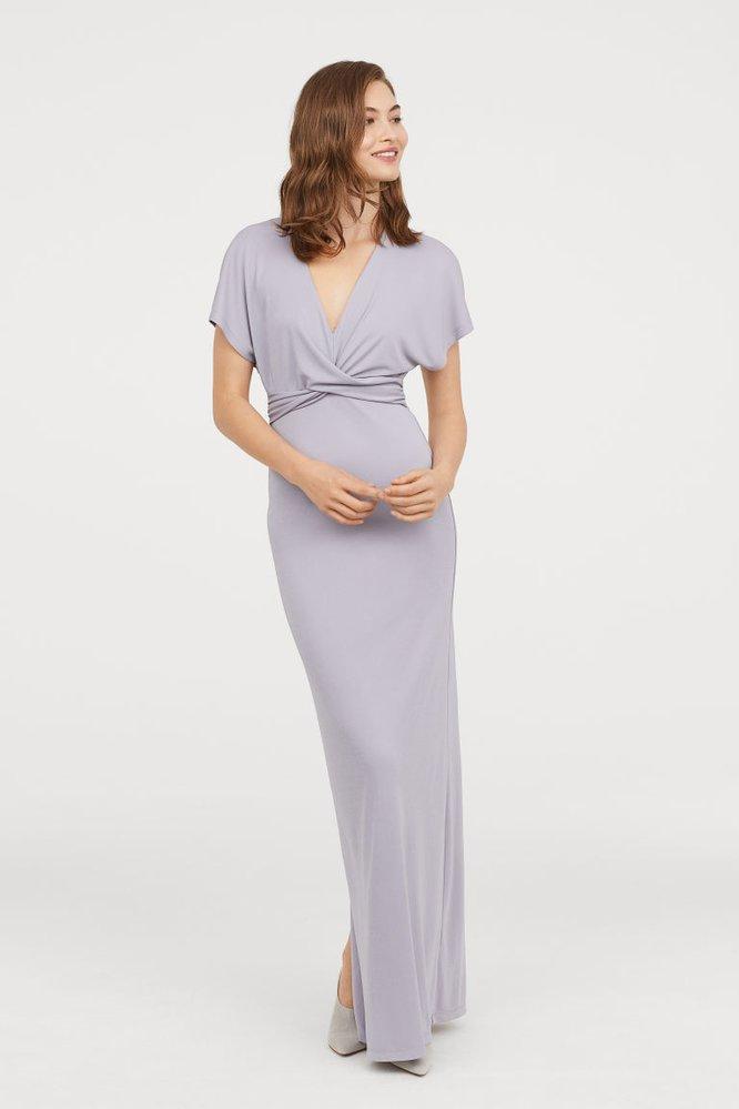 Dlouhé řasené šaty, HM, 999 Kč