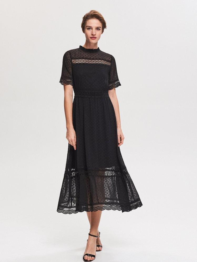 Šaty s krajkou, Reserved, 1299 Kč