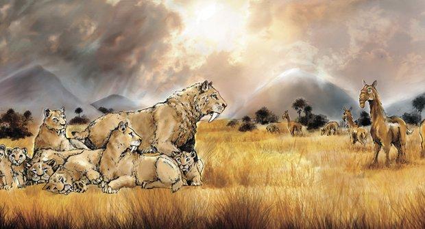 Šavlozubí tygři: Tajemní dravci