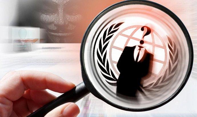 Sdružení Anonymous lhalo o původu dat. (Foto: Profimedia)