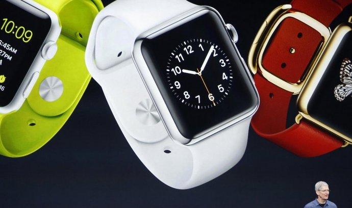 Šéf Applu Tim Cook s novými hodinkami Watch