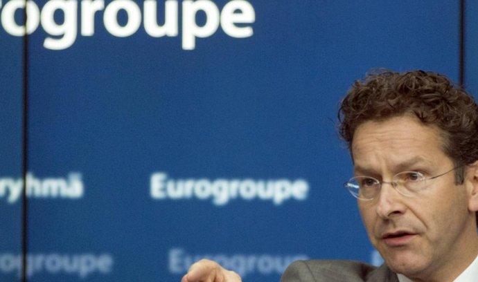 Šéf euroskupiny a nizozemský ministr financí Jeroen Dijsselbloem