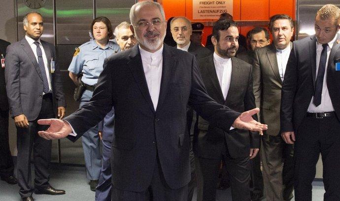 šéf íránské diplomacie Mohammad Džavád Zaríf