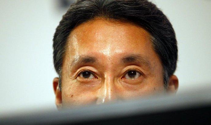 Šéf koncernu Sony Kazuo Hirai