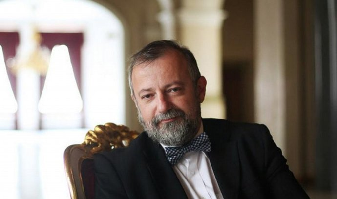 Šéf zahraničního odboru Hradu Hynek Kmoníček