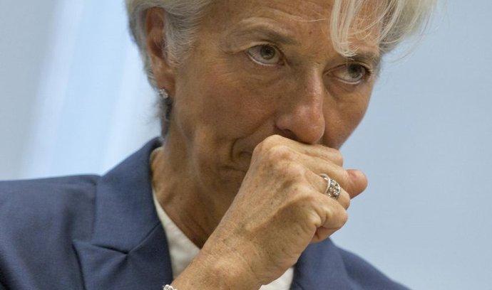 Šéfka Mezinárodního měnového fondu Christine Lagardeová