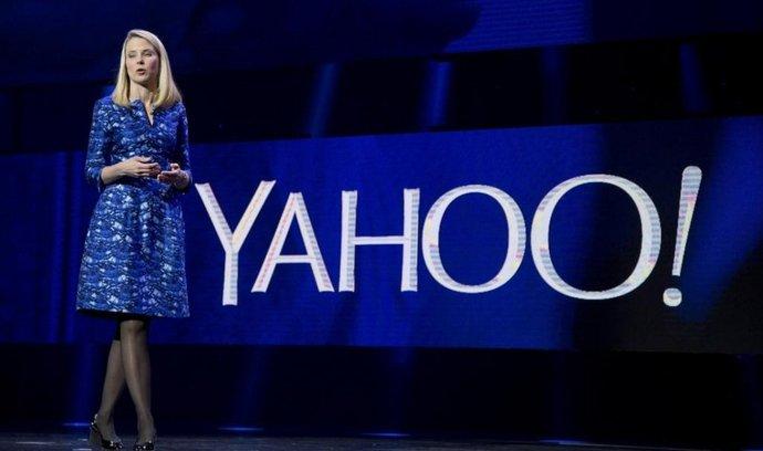 Šéfka Yahoo Marissa Mayerová