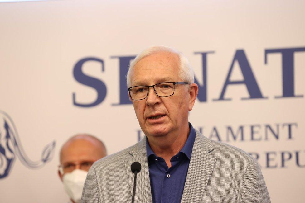 Senátoři o zdraví prezidenta Miloše Zemana (18. 10. 2021): Jiří Drahoš