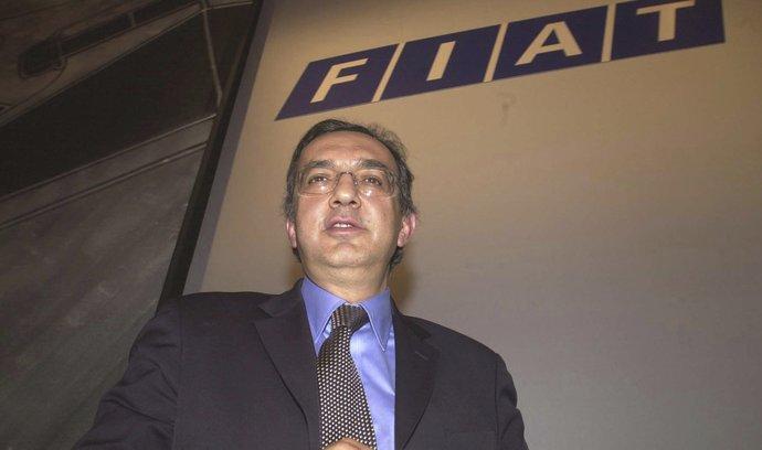 Sergio Marchionne na snímku z roku 2004