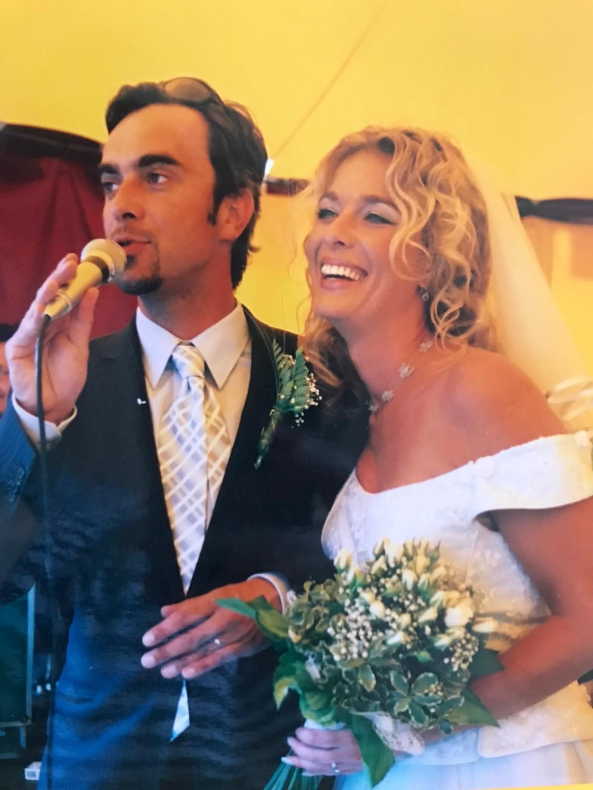 Svatba Tomáše Matonohy a Lucie Benešové.