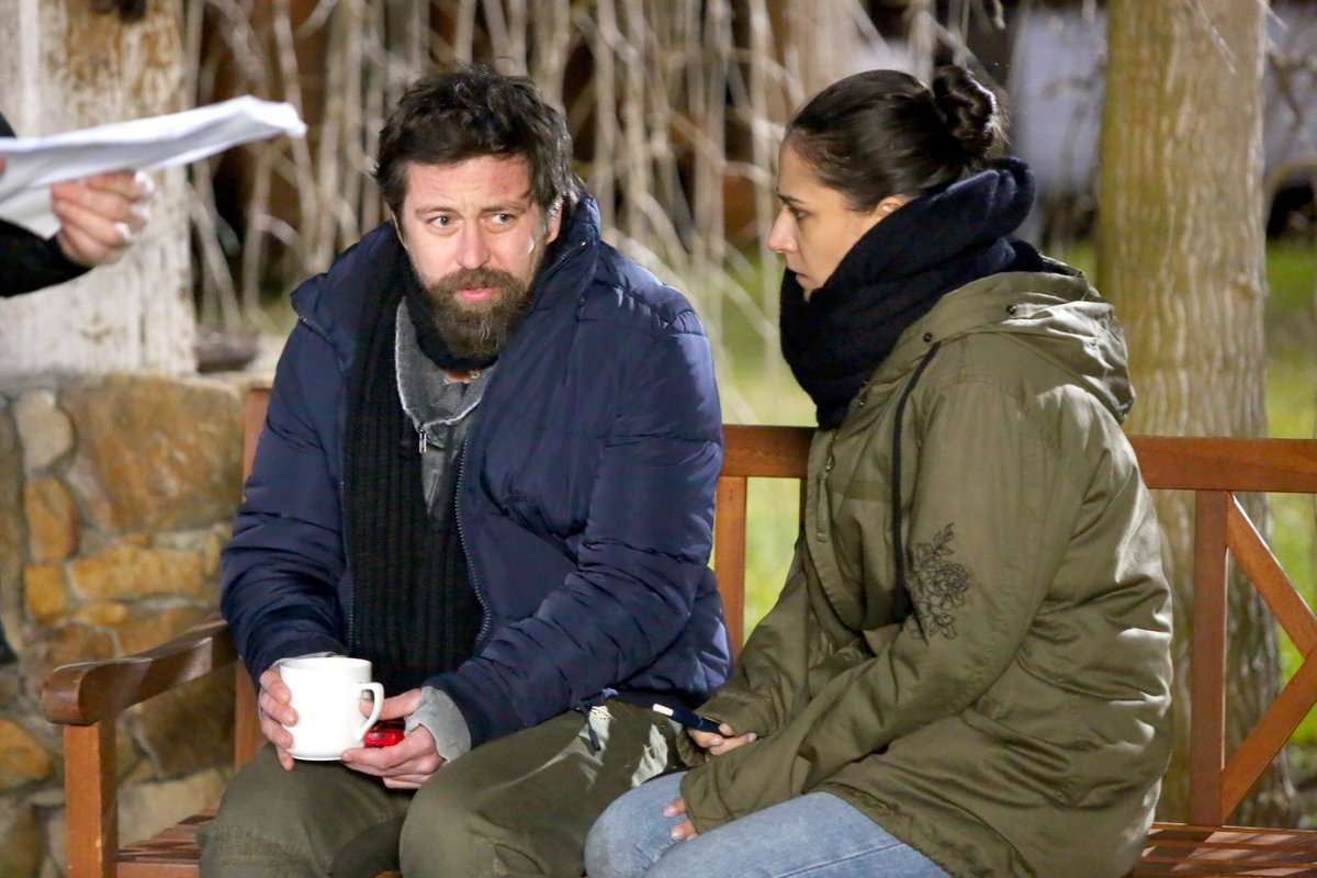 Jan Dolanský a Eva Burešová se chystali na nejdojemnější scénu.
