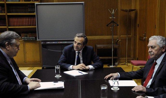 sestavování řecké vlády