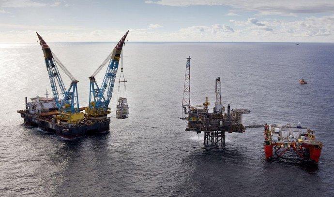 Severomořská těžební plošina BP Andrew