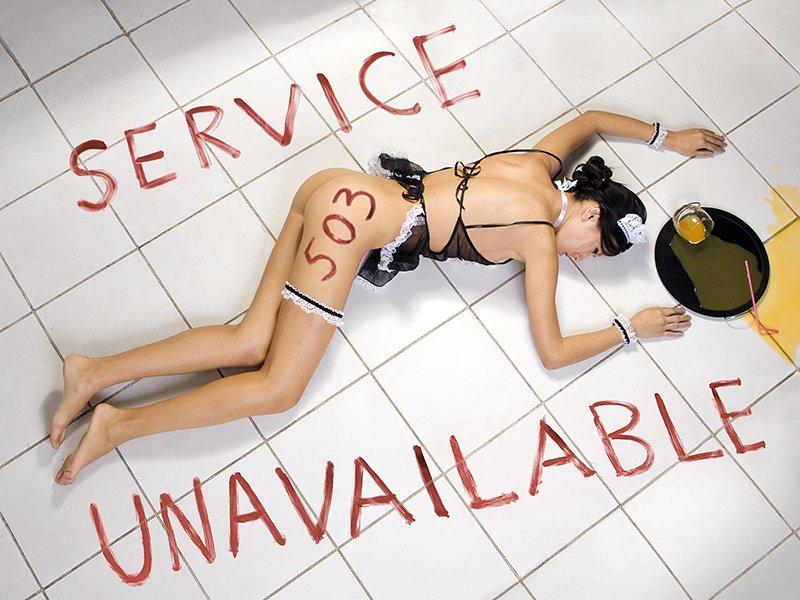 Služba 503 nedostupná