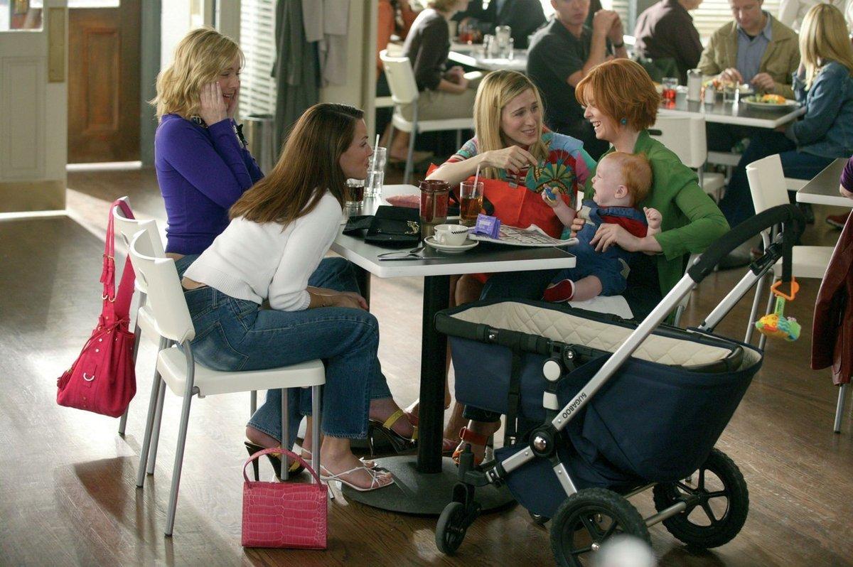 Záběr ze seriálu Sex ve městě (1998-2004)