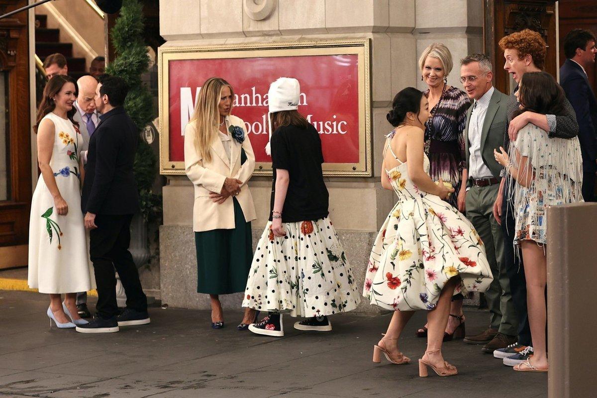 Rose Goldenblattová má na styling šatů Oscar de la Renta vlastní názor
