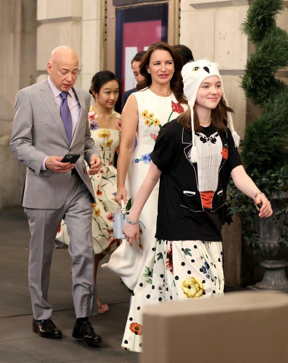Rodina Goldenblattova: Charlotte, Harry a jejich dvě dcery, Lily a Rose