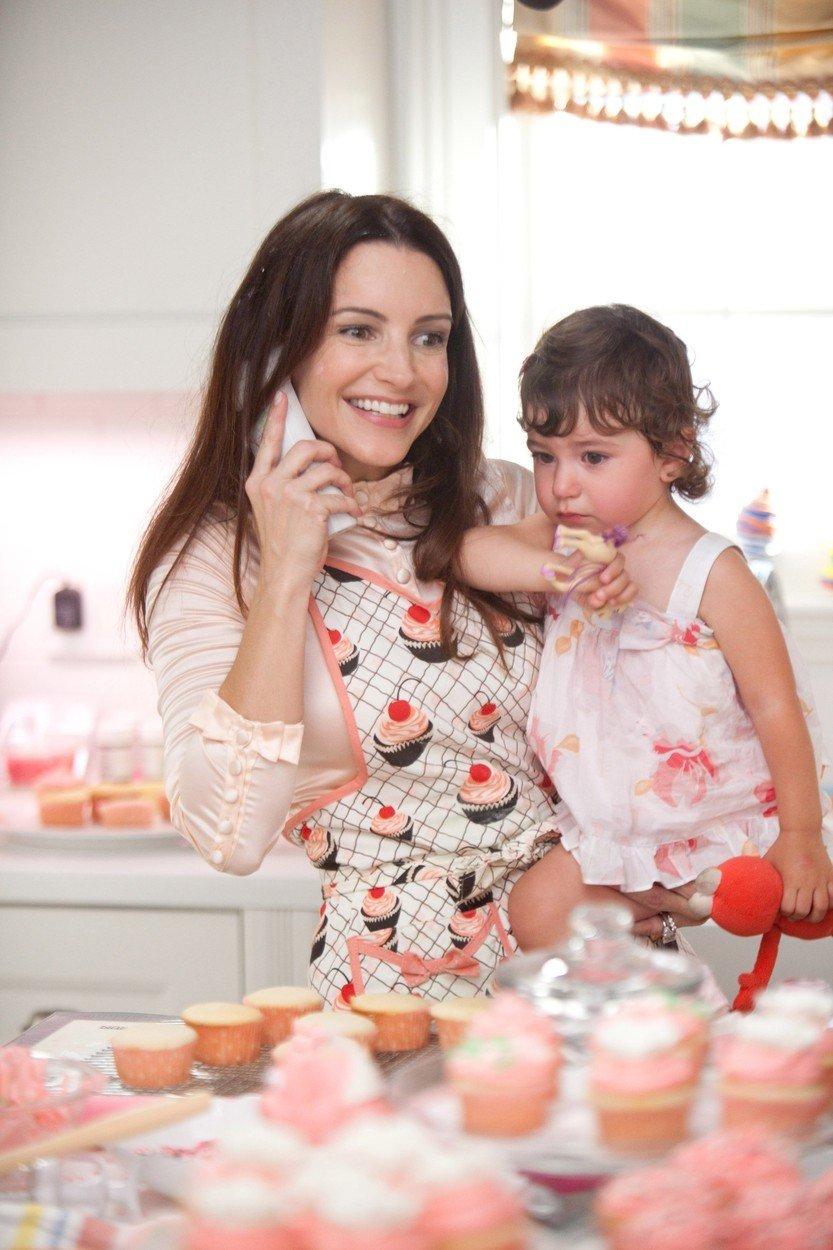 Charlotte s dcerou Rose filmu Sex ve městě 2