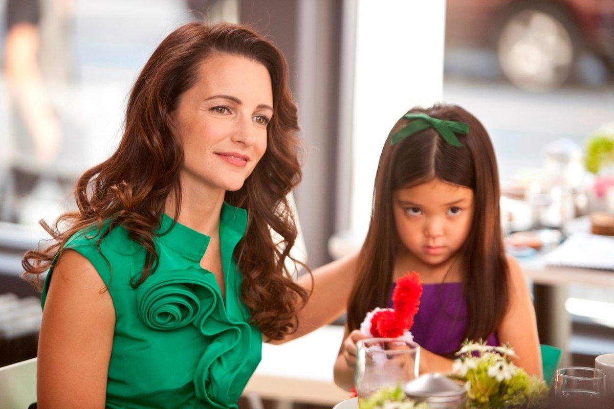 Charlotte s dcerou Lily ve filmu Sex ve městě 2