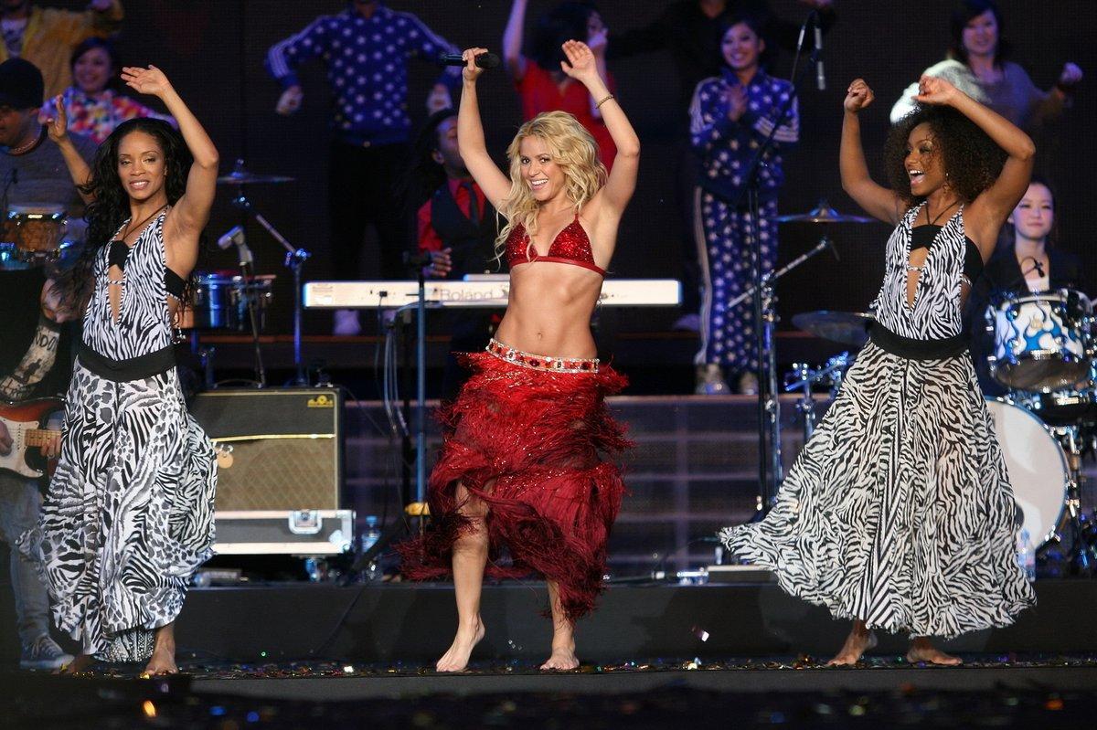 Shakira se na koncertech umí pořádně odvázat.
