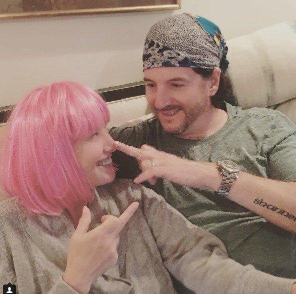 Shannen se svým manželem Kurtem