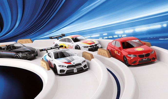 Objevte kouzlo modelů BMW M na slanou vodu pouze na čerpacích stanicích Shell
