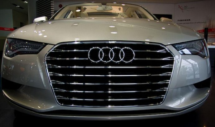 Showroom Audi v Pekingu (ilustrační foto)
