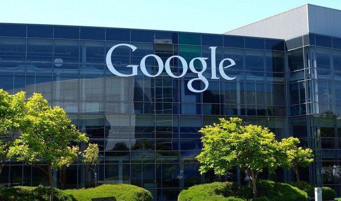 Sídlo Googlu v Mountain View v Kalifornii