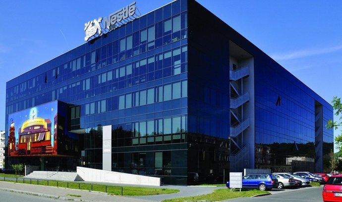sídlo Nestlé v Modřanech