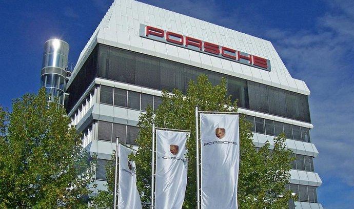 Sídlo Porsche ve Stuttgartu