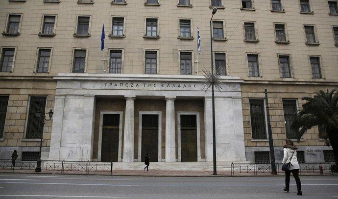 Sídlo řecké centrální banka