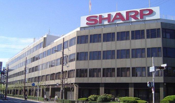 sídlo Sharp Corp. v Ósace