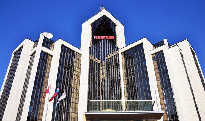 Sídlo společnosti Lukoil v Moskvě.