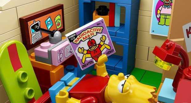 Oficiální fotky senzačního setu Lego Simpsonovi