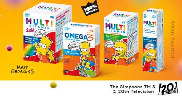 Soutěž o balíček vitamínů Simpsonovi