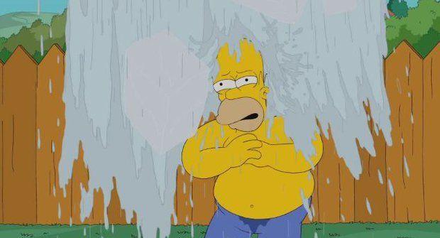 Tak jo! Homer Simpson a jeho Ice Bucket Challenge