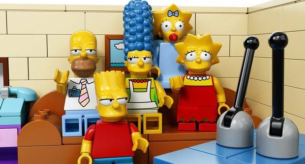 Mini LEGO Simpsonovi dorazili do Česka