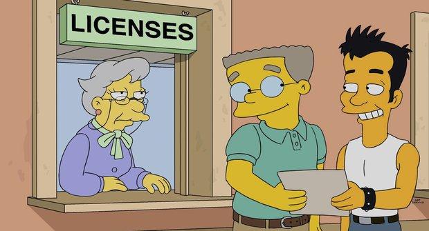 Hrdina ze Simpsonových na sebe prozradil, že je gay