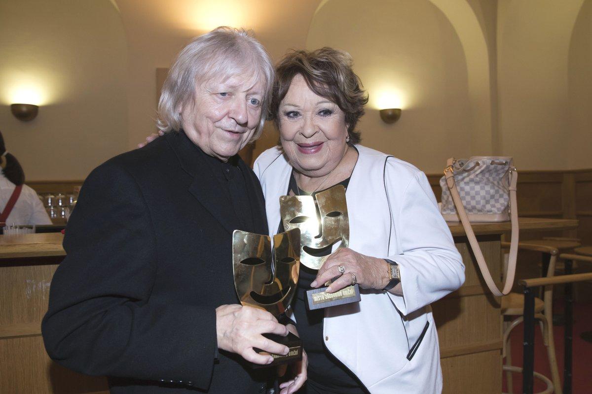 Václav Neckář a Jiřina Bohdalová