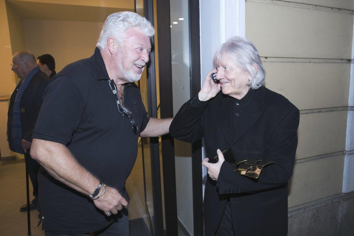 Milan Drobný a Václav Neckář