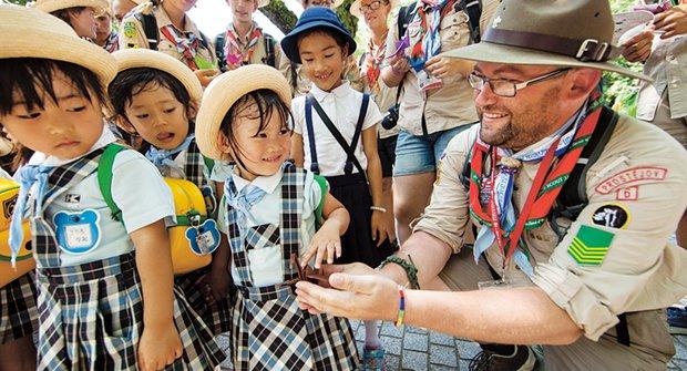 Se skauty do Japonska: Z Čech na druhý konec světa