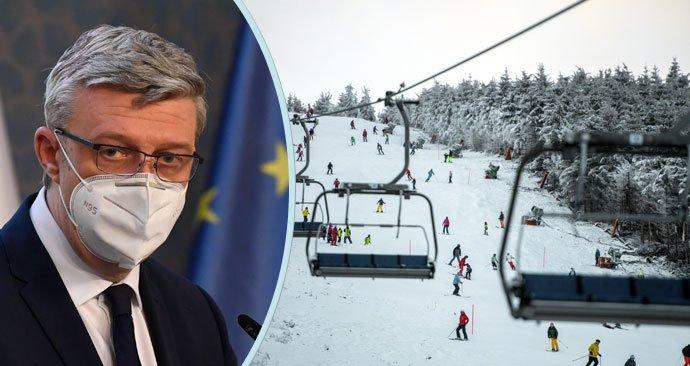 Vicepremiér Karel Havlíček (za ANO) a česká pravidla pro zimní sezonu