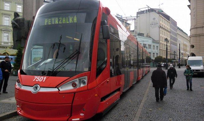 Škoda 30T Dopravního podniku Bratislava