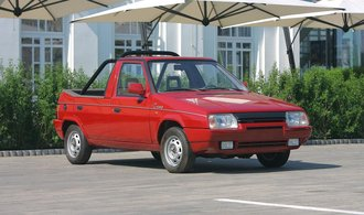 Škoda Favorit Tremp je jedním ze zajímavých devadesátkových konceptů