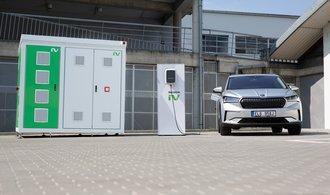 Použité baterie z elektrických škodovek najdou nové využití. Změní se v úložiště energie