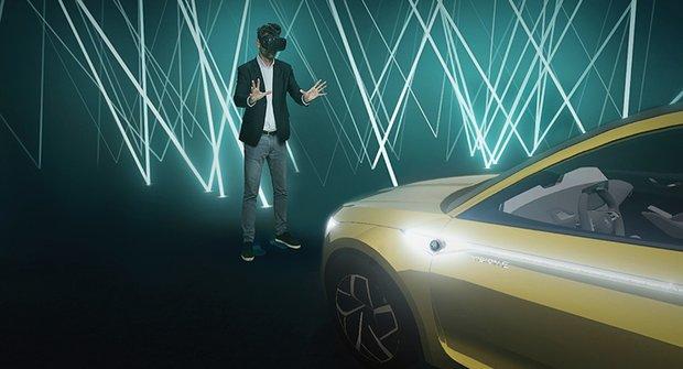 Auta, která neexistují: Jak virtuální realita pomáhá ve Škoda Auto